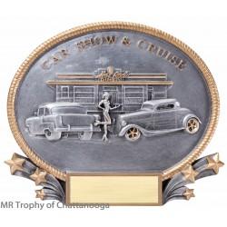 """M-26088 Car Show plate 7 1/4""""x 8 3/4"""""""
