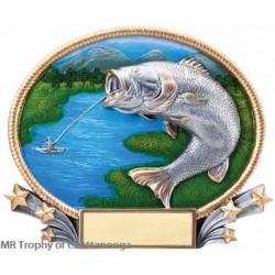M - 3D409 Fishing plate