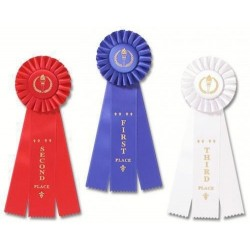 1st - 3rd Place Rosette Ribbon