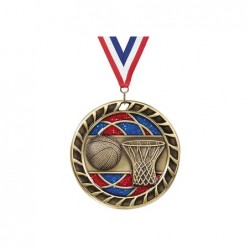 M-M83-BKT medal w nect ribbon