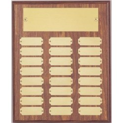 P1062 Master Plaque w/ 36 gold plates