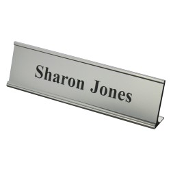 Name Plates in Slide in holder